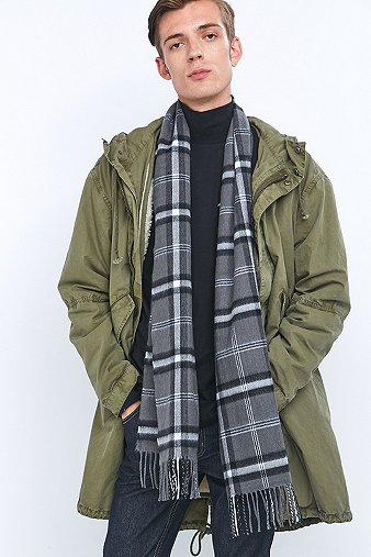 urban-outfitters-grey-plaid-scarf-mens-one-size