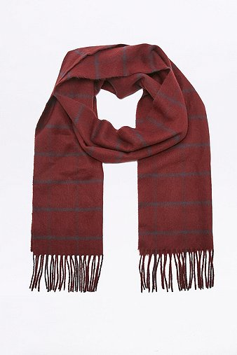 urban-outfitters-burgundy-window-check-scarf-mens-one-size