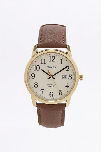 timex-easy-reader-brown-leather-analog-watch-mens-one-size
