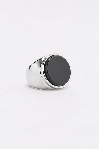 icon-brand-atlas-onyx-silver-ring-mens-one-size