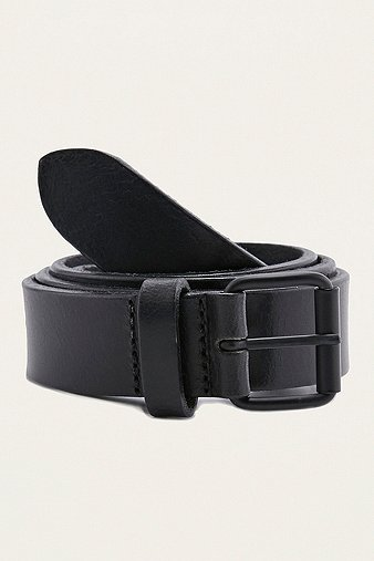 black-clean-leather-belt-mens-one-size